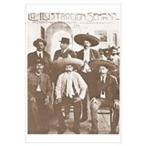 Emiliano Zapata Cover Mexican Revolution Print