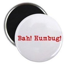 "Unique Bah humbug 2.25"" Magnet (100 pack)"
