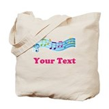 Music Personalized Cute Tote Bag