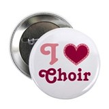 I Heart Choir Music Button