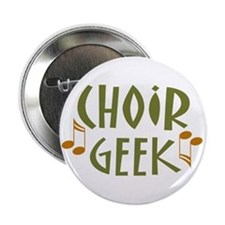 Choir Geek Music Button