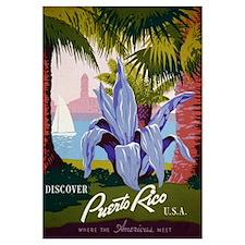 Discover Puerto Rico Travel Print