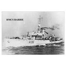 HMCS BARRIE Photo 17 x 11