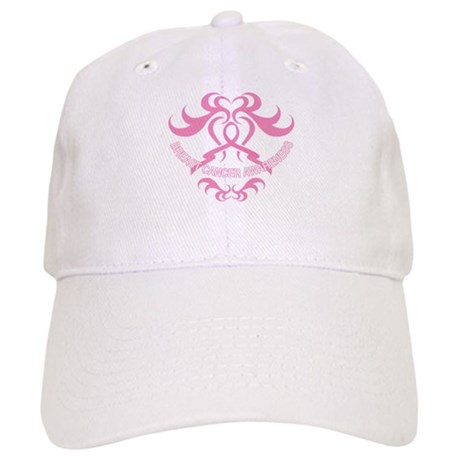 Tribal Breast Cancer Awareness Cap