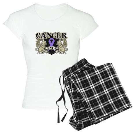 Hodgkins Cancer Survivor Women's Light Pajamas