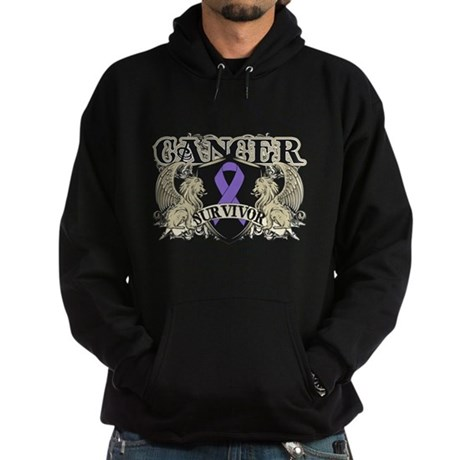 Hodgkins Cancer Survivor Hoodie (dark)