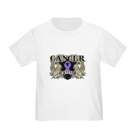 Hodgkins Cancer Survivor Toddler T-Shirt