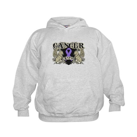Hodgkins Cancer Survivor Kids Hoodie