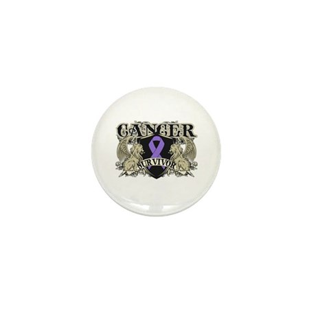 Hodgkins Cancer Survivor Mini Button (100 pack)