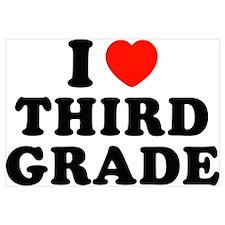 I Heart/Love Third Grade