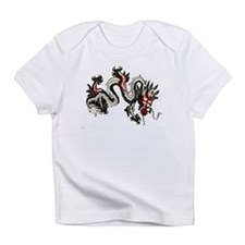 Black dragon Infant T-Shirt