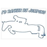 I'd rather be jumping. Horse
