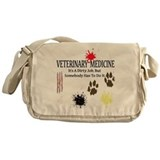 Vet Med It's A Dirty Job! Messenger Bag