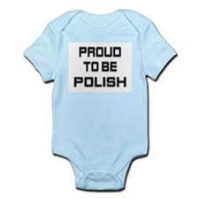 Proud to be Polish Infant Creeper