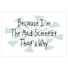 Because Mad Scientist