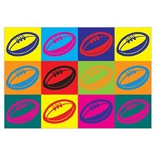 Rugby Pop Art