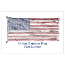 US Flag at Fort Sumter