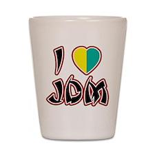 I Heart JDM (Wakaba) Shot Glass