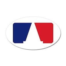 Major League Autocross 20x12 Oval Wall Decal
