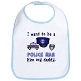 Cop Like Daddy Bib