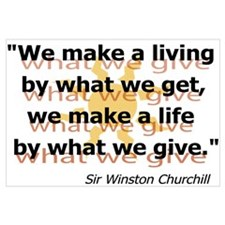 What We Give by Churchill