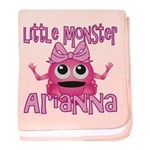 Little Monster Arianna baby blanket