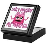 Little Monster Arianna Keepsake Box