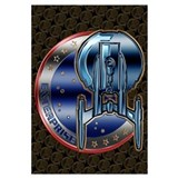 Enterprise Patch (metal look)
