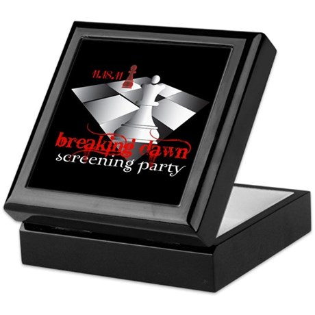 Breaking Dawn Screening Party Keepsake Box