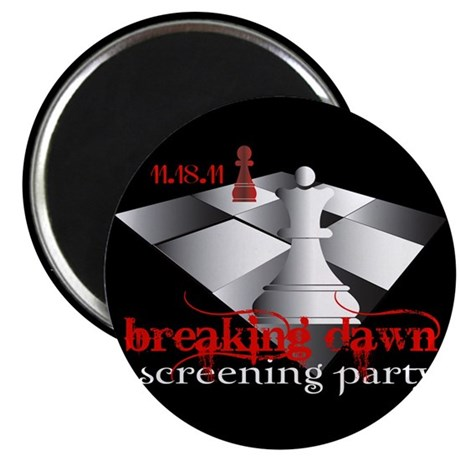 "Breaking Dawn Screening Party 2.25"" Magnet (10 pac"
