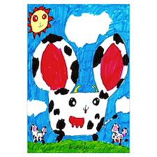 Cow Hamsters Print