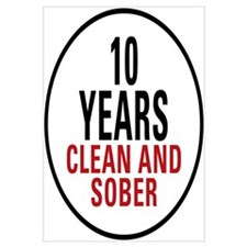 10 Years Clean & Sober