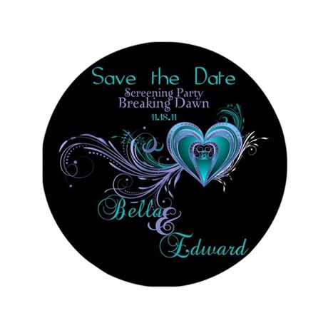 "Breaking Dawn Screening Party 3.5"" Button (100 pac"