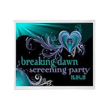 Breaking Dawn Screening Party Throw Blanket