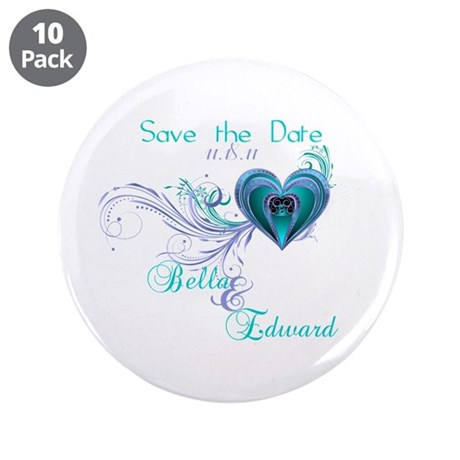 "Breaking Dawn Screening Party 3.5"" Button (10 pack"
