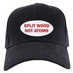 SPLIT WOOD NOT ATOMS Black Cap