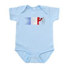 Boxing - France Infant Bodysuit