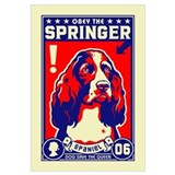 Obey the Springer Spaniel!