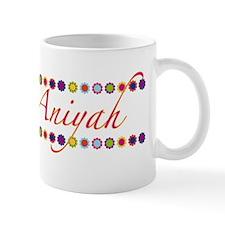 Aniyah with Flowers Mug