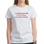 Delilah with Flowers Women's T-Shirt
