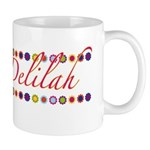 Delilah with Flowers Mug
