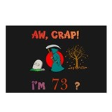 Oh, CRAP! I'm 73! Gift Postcards (Package of 8)