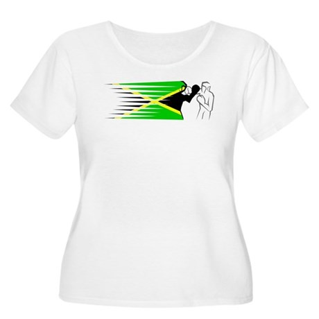 Boxing - Jamaica Women's Plus Size Scoop Neck T-Sh