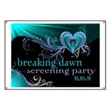 Breaking Dawn STD Teal STD Banner