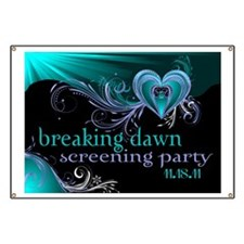 Breaking Dawn STD Teal STD Banner