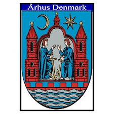 """23"""" x 35"""" Arhus Denmark"""