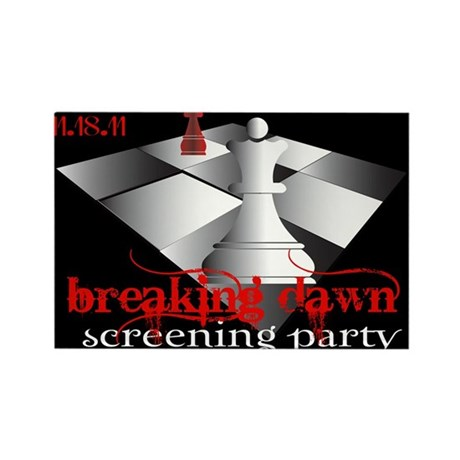 Breaking Dawn Screening Party Rectangle Magnet (10