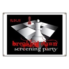 Breaking Dawn Screening Party Banner