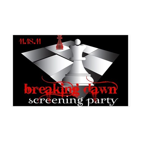 Breaking Dawn Screening Party 38.5 x 24.5 Wall Pee