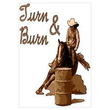 Turn & Burn. Western Cowgirl.